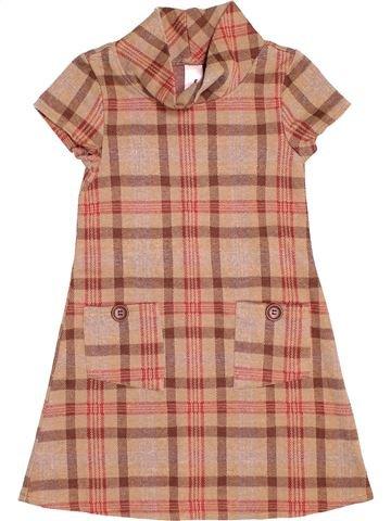Vestido niña C&A marrón 7 años invierno #1503438_1