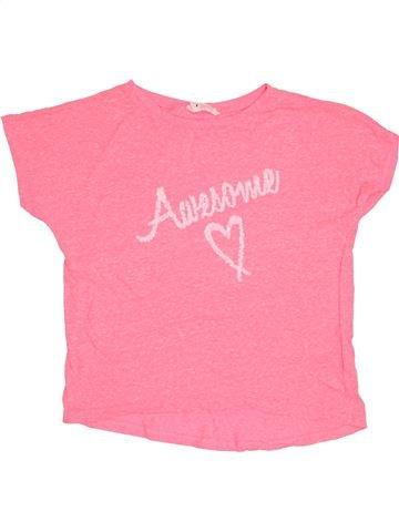 Camiseta de manga corta niña H&M rosa 12 años verano #1503444_1