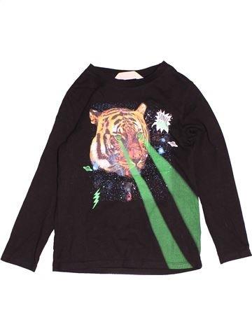 Camiseta de manga larga niño H&M azul oscuro 6 años invierno #1503564_1