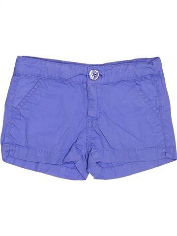 Short-Bermudas niña SFERA violeta 5 años verano #1503565_1
