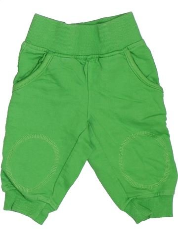 Pantalon garçon IMPIDIMPI vert 6 mois hiver #1503940_1