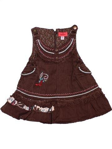Robe fille MARÈSE marron 6 mois hiver #1504056_1