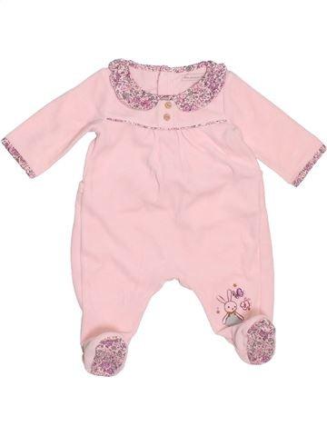 Pijama de 1 pieza niña SERGENT MAJOR rosa 1 mes invierno #1504063_1