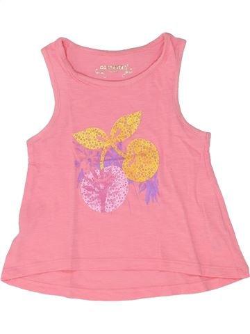 T-shirt sans manches fille ORCHESTRA rose 3 ans été #1504128_1
