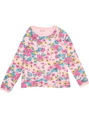 Sweat fille DPAM blanc 10 ans hiver #1504230_1