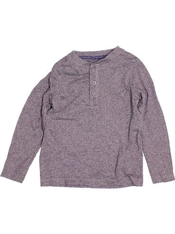 T-shirt manches longues garçon TU gris 3 ans hiver #1504622_1