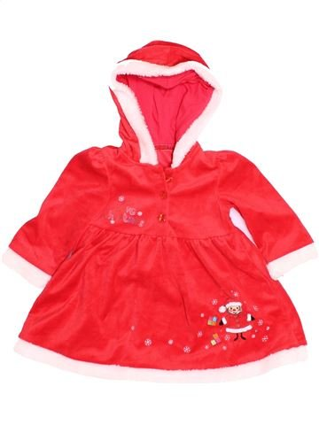 Robe fille MATALAN rouge 12 mois hiver #1504761_1