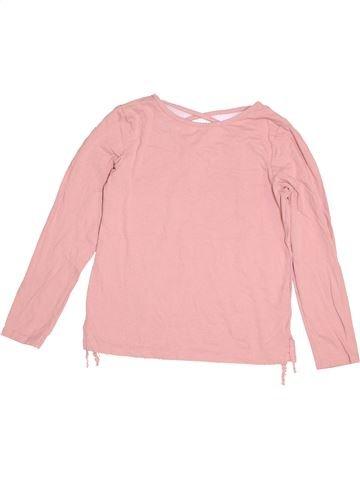 T-shirt manches longues fille TU rose 9 ans hiver #1505110_1