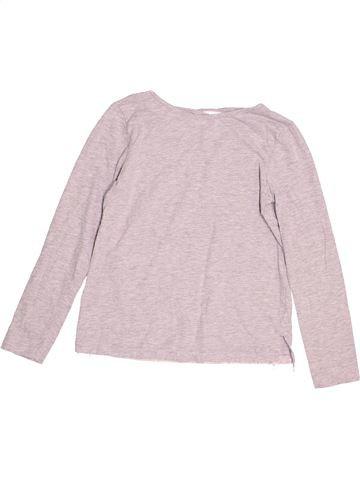 T-shirt manches longues fille TU blanc 9 ans hiver #1505111_1
