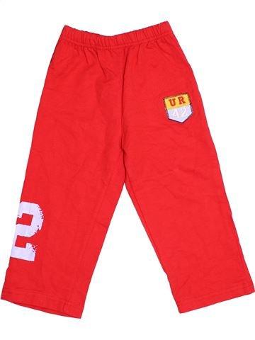 Pantalon garçon SANS MARQUE rouge 2 ans hiver #1505154_1