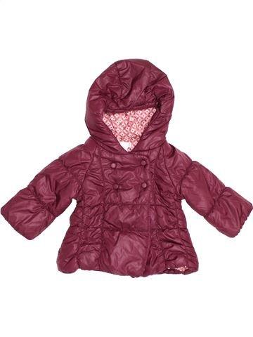 Doudoune fille OKAIDI violet 6 mois hiver #1505633_1