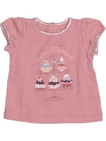 Camiseta de manga corta niña SERGENT MAJOR rosa 3 meses verano #1505685_1
