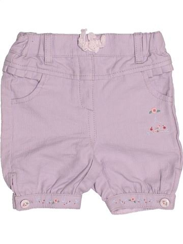 Short - Bermuda fille SERGENT MAJOR rose 3 mois été #1505687_1