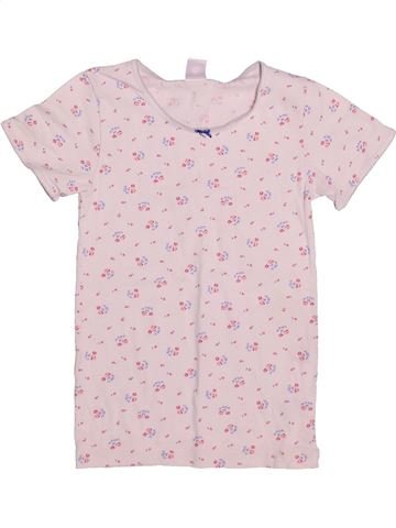 T-shirt manches courtes fille PETIT BATEAU violet 10 ans été #1505937_1