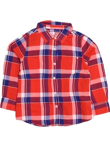 Blusa de manga larga niña DPAM rojo 5 años invierno #1505948_1