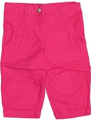 Pantalón corto niña 3 POMMES rosa 2 años verano #1506029_1