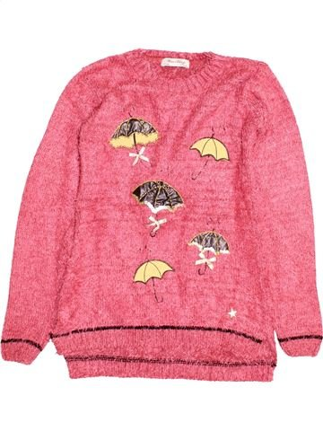 Pull fille YELE rose 16 ans hiver #1506382_1