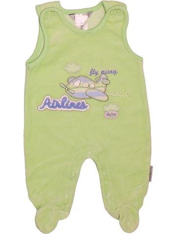 Pyjama 1 pièce garçon JACKY vert naissance hiver #1506903_1