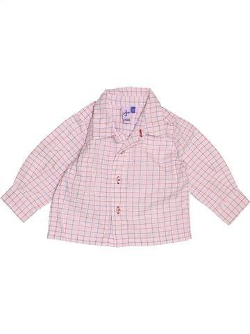 Chemise manches longues garçon JASPER CONRAN violet 6 mois hiver #1506981_1