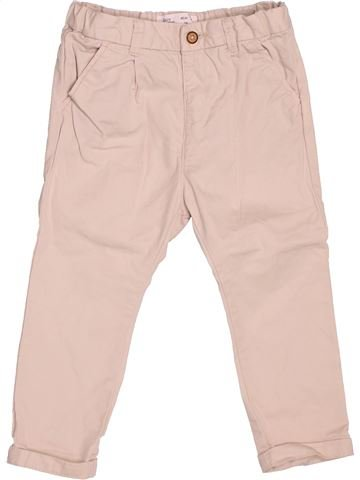 Pantalon fille ZARA violet 2 ans été #1507143_1