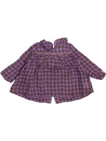 Blusa de manga larga niña LILI GAUFRETTE gris 12 meses invierno #1507291_1