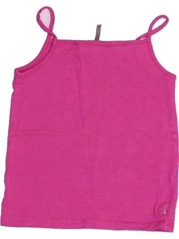 T-shirt sans manches fille ORCHESTRA violet 18 mois été #1507771_1