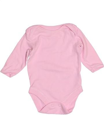 T-shirt manches longues fille GEORGE rose 1 mois hiver #1507956_1
