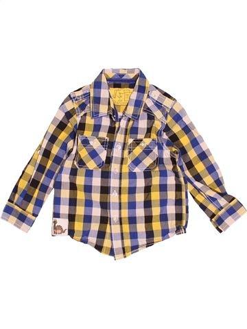 Chemise manches longues garçon TU blanc 4 ans hiver #1508284_1