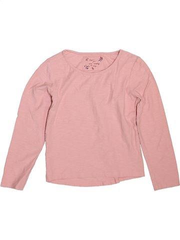 T-shirt manches longues fille TU rose 7 ans hiver #1508294_1