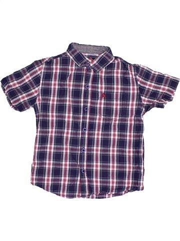 Chemise manches courtes garçon PRIMARK violet 4 ans été #1508385_1