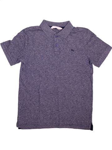 Polo manches courtes garçon H&M violet 12 ans été #1508416_1