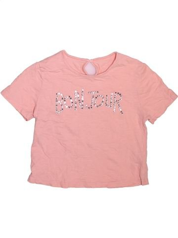 Camiseta de manga corta niña DUNNES STORES rosa 11 años verano #1508522_1