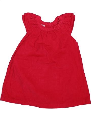 Robe fille DPAM rouge 12 mois hiver #1508874_1