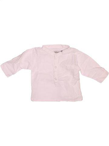 Camisa de manga larga niño JEAN BOURGET rosa 3 meses invierno #1508927_1