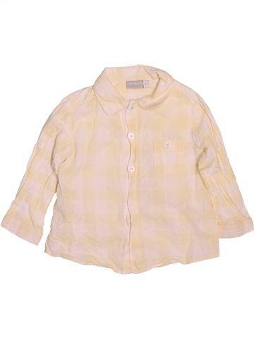 Chemise manches longues garçon NATALYS beige 9 mois hiver #1509667_1