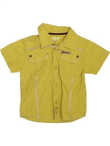 Camisa de manga corta niño ORCHESTRA amarillo 2 años verano #1509713_1