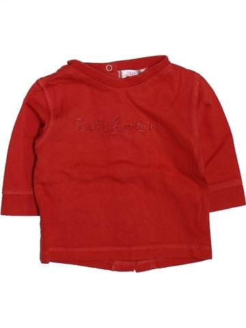 T-shirt manches longues garçon KIABI rouge 3 mois hiver #1509801_1