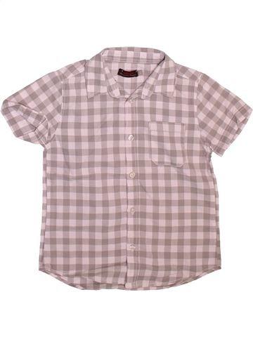 Chemise manches courtes garçon CATIMINI beige 5 ans été #1509806_1