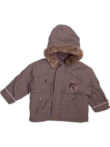 Manteau garçon VERTBAUDET marron 2 ans hiver #1509846_1