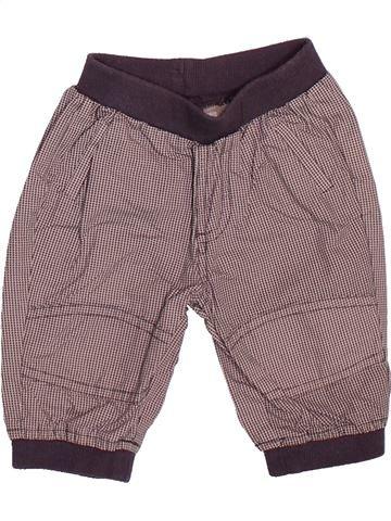 Pantalón niño VERTBAUDET marrón 3 meses verano #1510090_1