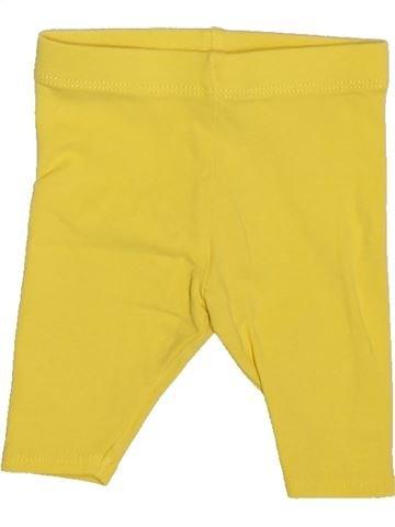 Legging niña VERTBAUDET amarillo 3 meses verano #1510113_1