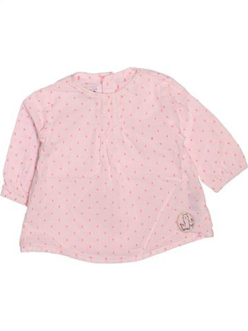 Blusa de manga larga niña LA COMPAGNIE DES PETITS rosa 3 meses invierno #1510123_1