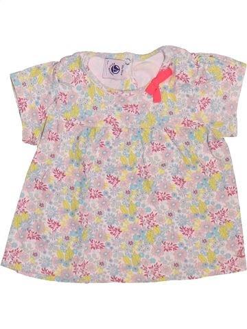 Camiseta de manga corta niña PETIT BATEAU rosa 18 meses verano #1510155_1
