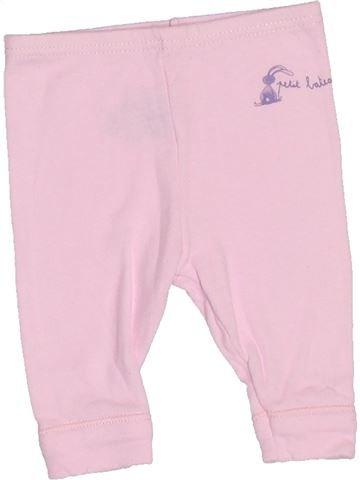 Legging niña PETIT BATEAU rosa 1 mes verano #1510553_1