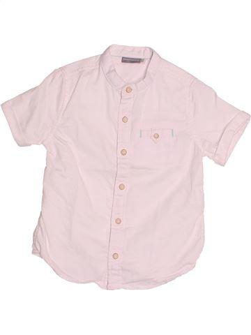 Chemise manches courtes garçon SERGENT MAJOR rose 4 ans été #1510644_1