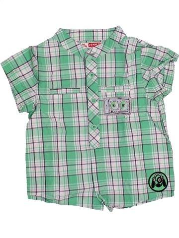 Camisa de manga corta niño DPAM azul 2 años verano #1510814_1