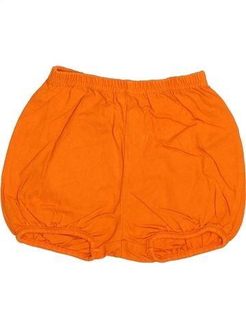 Short - Bermuda fille DPAM orange 18 mois été #1510879_1