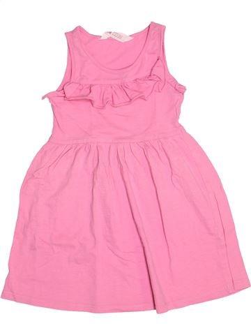 Robe fille H&M rose 4 ans été #1511038_1