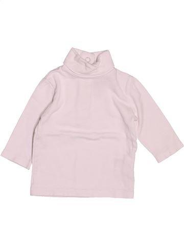 T-shirt col roulé garçon CYRILLUS blanc 6 mois hiver #1511524_1