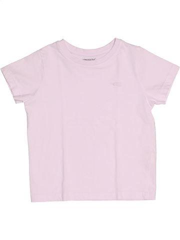 Camiseta de manga corta niño ORCHESTRA rosa 4 años verano #1511592_1